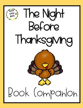 Book Companion - The Night Before Thanksgiving