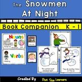 Book Companion  The Snowmen at Night  Grades K-1