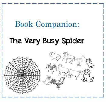 Book Companion: The Very Busy Spider