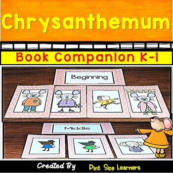 Chrysanthemum  | Kevin Henkes | Back to School | Book Based Name Activities