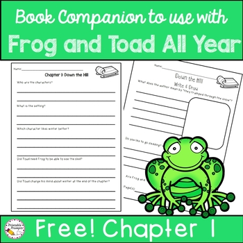 Book Companion for Frog and Toad All Year Free