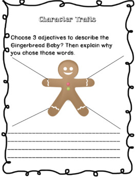 Book Companion for Gingerbread Baby
