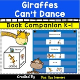 Book Companion for Giraffes Can't Dance Grades K and 1