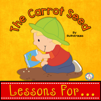 Book Companion for The Carrot Seed PK and K