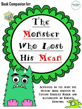 Book Companion for The Monster Who Lost His Mean