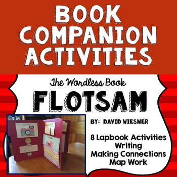 Book Companion for Wordless Book Flotsam by David Wiesner, lapbook, flipbook