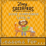 Level M Book Companion for Zoey and Sassafras Dragons and Marshmallows