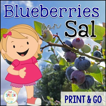 Book Companion to Blueberries for Sal
