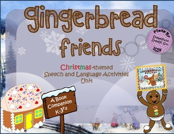 "Book Companion to ""Gingerbread Friends"" by Jan Brett"