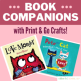 Book Companions & Craft for Pete the Cat and Monster Love
