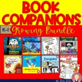 Book Companions BUNDLE for K-1 - For At Home Learning