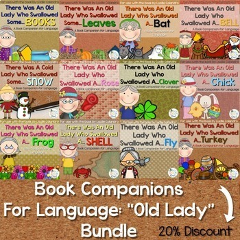 """Book Companions for Language: """"Old Lady"""" Bundle"""