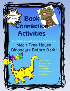 Book Connections - Dinosaurs!