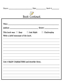 Book Contract Summary