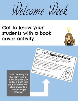 Book Cover Activity
