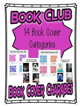 Book Cover Charades - Book Club