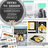 Book Cover Introduction to Design and Photoshop Project, D