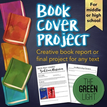 Book Cover Project and Worksheet - Perfect for Book Reports!