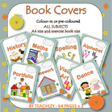 Book Covers Colour and Black & White