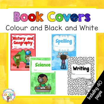 Book Covers - Colour and Black and White