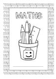 Lego themed Book Covers (Editable)