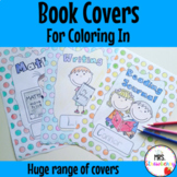 Book Covers - Notebook Covers {Polka Dot}
