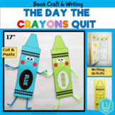 The Day the Crayons Quit - Book Companion Craft and Writin