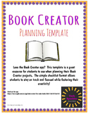 Book Creator Planning Template