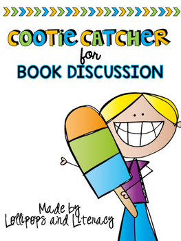 Book Discussion Cootie Catcher