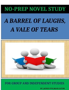 A Barrel of Laughs, A Vale of Tears Novel Study Lesson Plans - Jules Feiffer