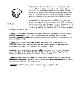 Book Discussion Packet: use with any book