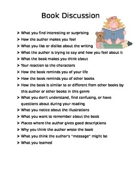 Book Discussion Questions