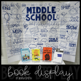 "Book Display Poster - ""Middle School Mayhem"""
