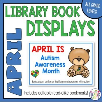 Library Display Posters: April