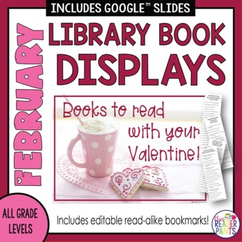 Book Displays: February, Valentine's Day, Black History Month
