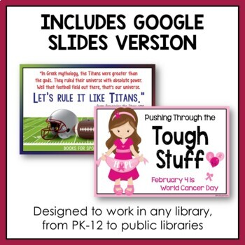 Library Display Posters: February