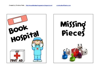 Book Doctor & Missing Pieces Sign