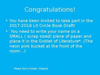 Literature Circle Selection Draft