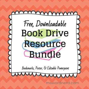 Book Drive Resource Bundle