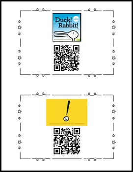 Amy Krouse Rosenthal Writing Prompts and QR Codes