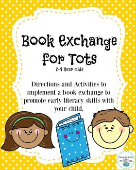 Book Exchange for Tots (2-4 year olds)