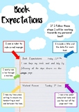 Book Expectations - Writing