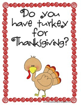A Turkey For Thanksgiving Book Extension K-2