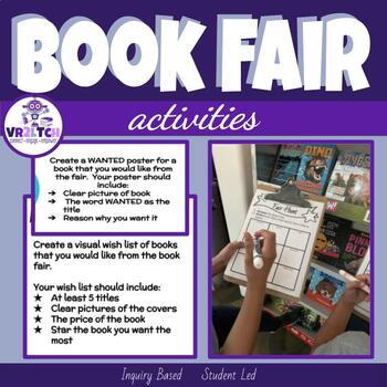 Book Fair Activities