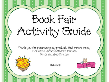 Book Fair Activity Guide