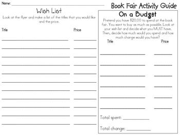 Book Fair Activity Guide