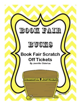 Book Fair Bucks: Scratch Off Tickets
