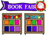 Book Fair Clipart (Personal & Commercial Use)