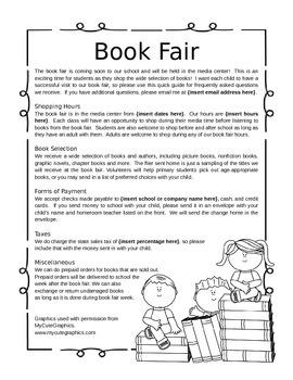 Book Fair Flier