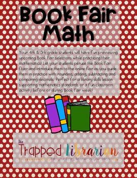 Book Fair Math:  Common Core Aligned